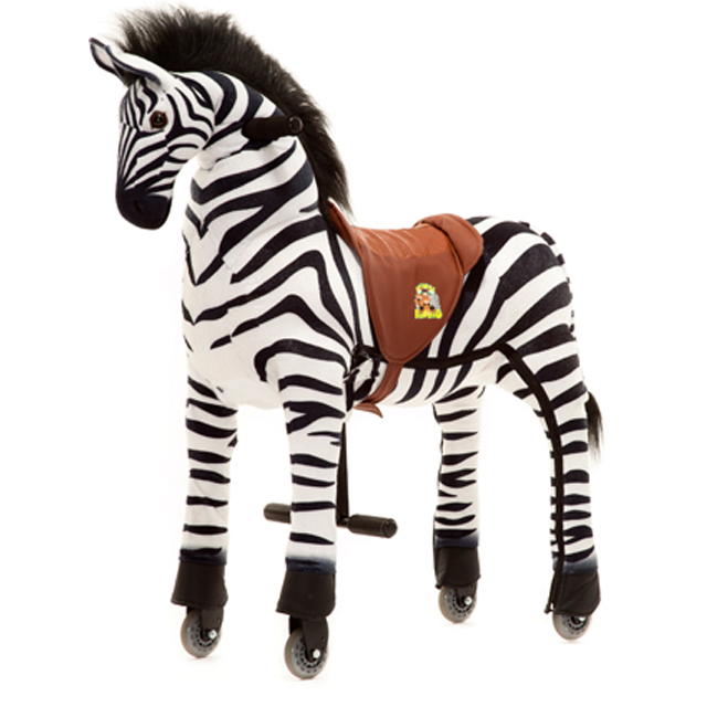 "Animal-Riding ZEBRA ""Marthi"" (Large)"