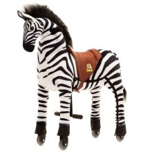 "Animal-Riding ZEBRA ""Marthi"" (Medium)"